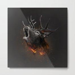 XTINCT x Elk Metal Print