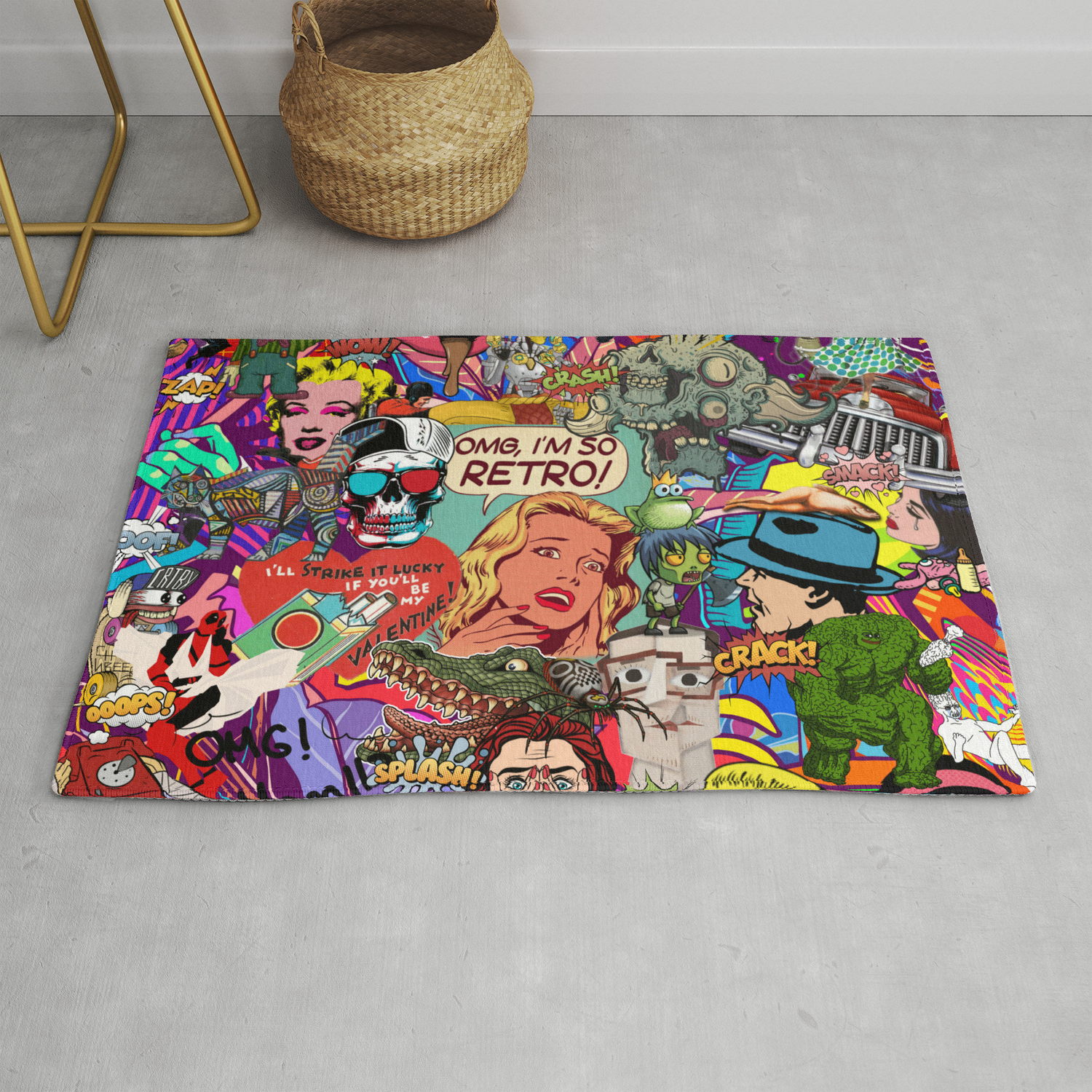 Who In Is Archie Rug By Helt Sort