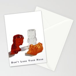 Don't Lose Your Head Stationery Cards