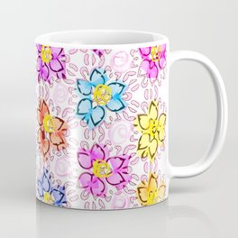 pattern flower Coffee Mug