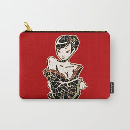 Vector Geisha mosaic Carry-All Pouch