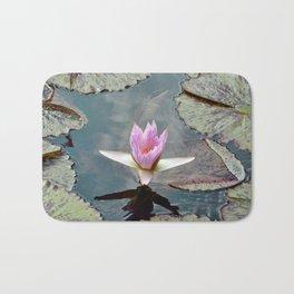 Tropical Water Lily Bath Mat