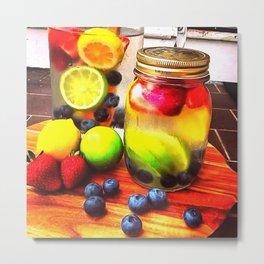 Fruitful Goodness Metal Print