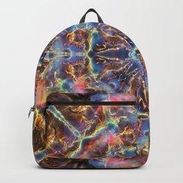 Cosmic Flower Mandala Backpack