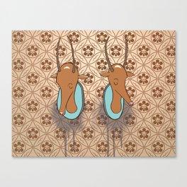Antelope Trophies Canvas Print