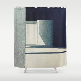 Solo Forma Geometrica Shower Curtain