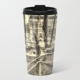 Thames Barges art Travel Mug