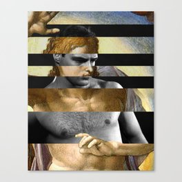 Michelangelo's Christ & Marlon Brando Canvas Print