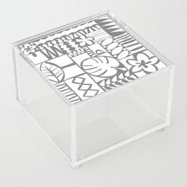 Chachani - White Acrylic Box
