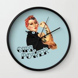 Girl Power! Wall Clock
