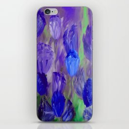Breaking Dawn in Shades of Deep Blue and Purple iPhone Skin