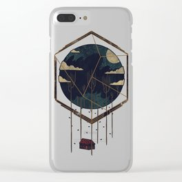 The Dark Woods Clear iPhone Case