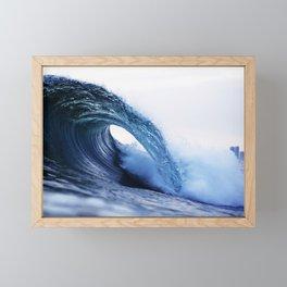 The Wave Framed Mini Art Print