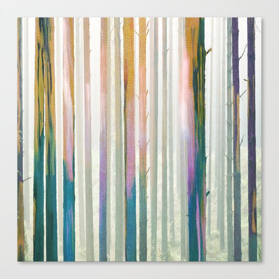 Winter Forest Canvas Print
