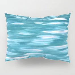 Blue-green teal shimmer Pillow Sham