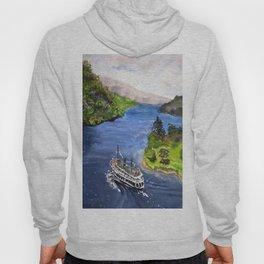 River Boat Journey Hoody