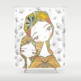 Floral Motherhood Shower Curtain
