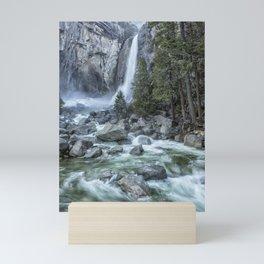 Lower Yosemite Falls Mini Art Print