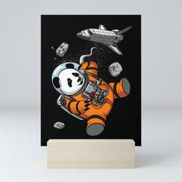 Panda Bear Space Astronaut Cosmic Animal Mini Art Print