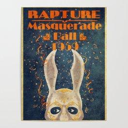 Bioshock masquerade ball 1959 Poster