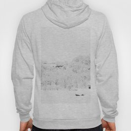 Winter Forest (Black and White) Hoody