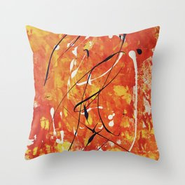 Penne at the Ballet Throw Pillow