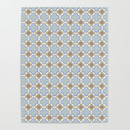 Moroccan Floris Poster