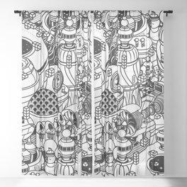 Dark Matter Space Machine Sheer Curtain