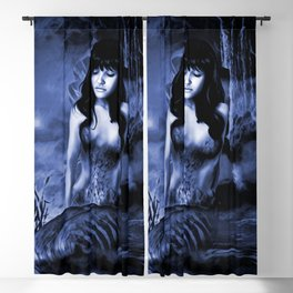 WATER GODDESS Blackout Curtain
