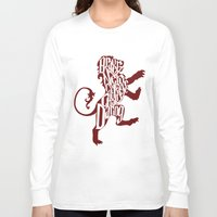 gryffindor Long Sleeve T-shirts featuring Gryffindor Pride by Gabriela Michelle