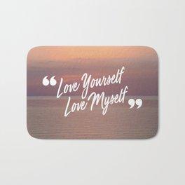 BTS: Love yourself, love myself Bath Mat