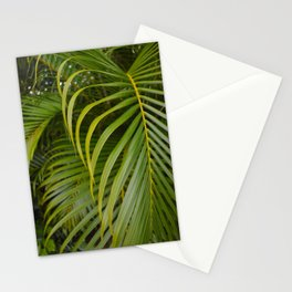 Summer Palm Leaves Stationery Cards