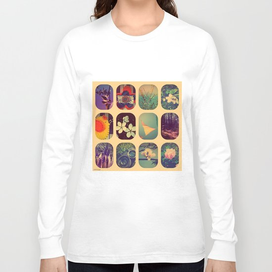 Spring collage Long Sleeve T-shirt