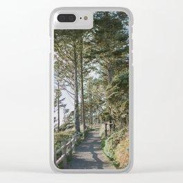 Oregon Coast Path / Fine Art Film Photography Clear iPhone Case