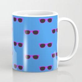 Glasses, blue Coffee Mug