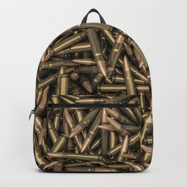 Rifle bullets Backpack