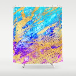 Marble Magic Shower Curtain