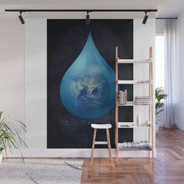 Teardrop 03. Wall Mural