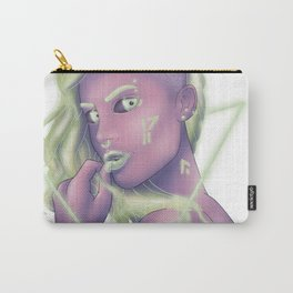 Mint Green Punk Carry-All Pouch