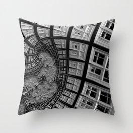 Windows of Perception Throw Pillow