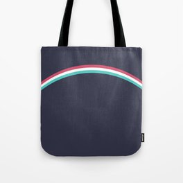 Italo Retro Rainbow Tote Bag