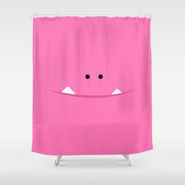 """Brillo """"El Monstrillo"""" Shower Curtain"""