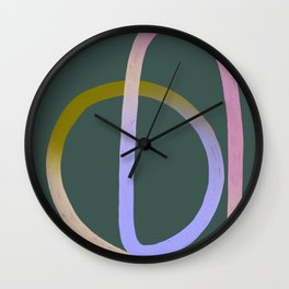 ENDLESS LOVE GREEN Wall Clock