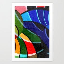 Pattern 2018 005 Art Print