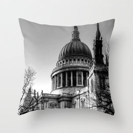 St Pauls, London Throw Pillow