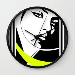 "Elegant ""sexy"" vision Wall Clock"