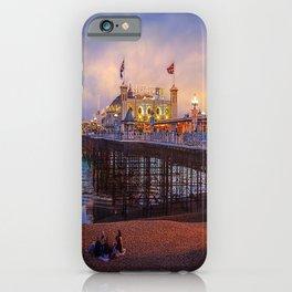 Brighton Pier Twilight iPhone Case