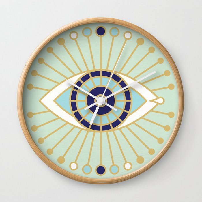 Evil Eye Collection Wall Clock