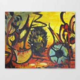 Death of a Kiwi Canvas Print