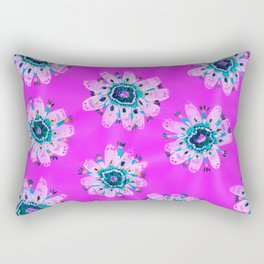 Lilly Lace Rose Rectangular Pillow